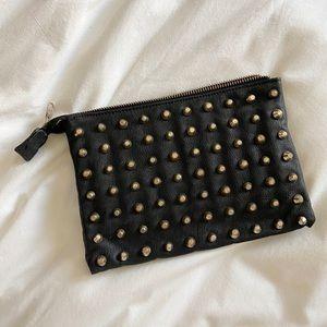 Zara Studded Clutch / Wallet